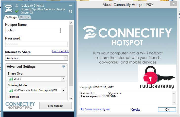 Connectify Hotspot 2020 License Key