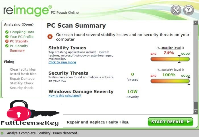 Reimage PC Repair 2020 License Key