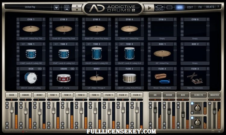 Addictive Drums Serial Key