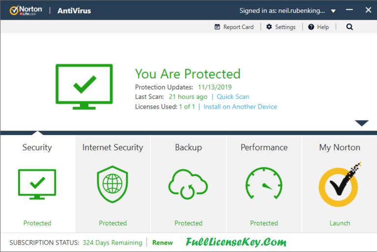 Norton Antivirus 2020 Product Key