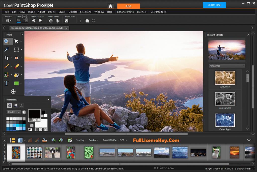 Corel PaintShop Pro Ultimate 2020 Serial Number