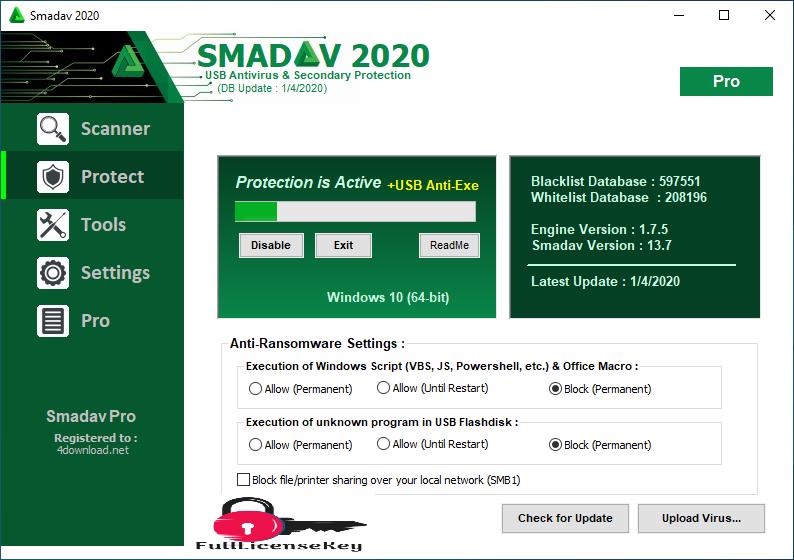 Smadav Pro License Key