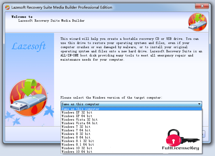 Lazesoft Windows Recovery Serial Key