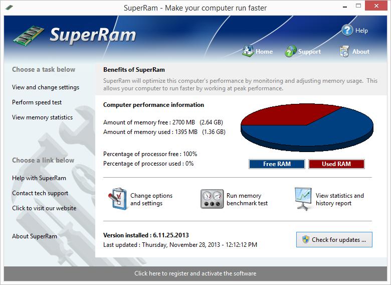 PGWare SuperRam Serial Key