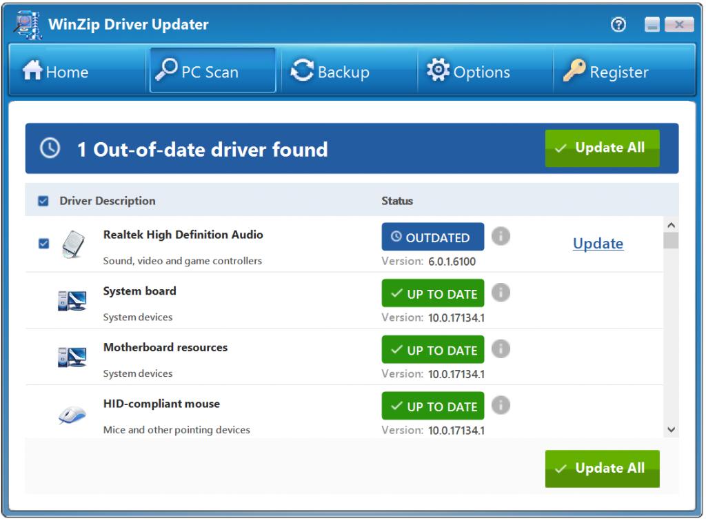 Winzip Driver Updater Crack 5 34 4 2 License Key Latest