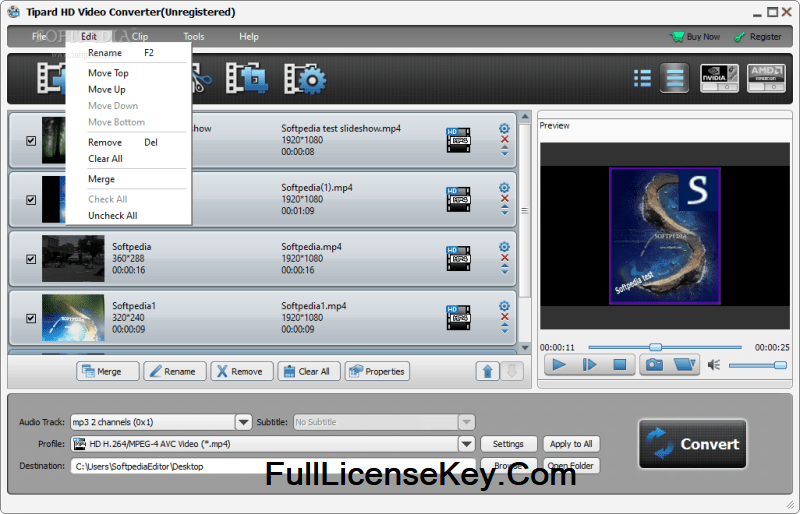 Tipard HD Video Converter Registration Code