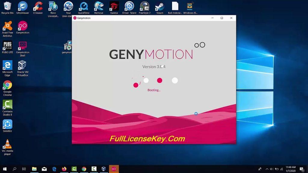 Genymotion License Key List
