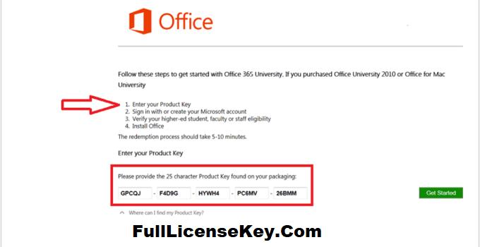 Microsoft Office 365 Product Key Generator